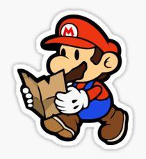 Pegatina Papel Mario