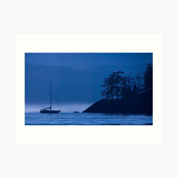 Blue Mist Art Print