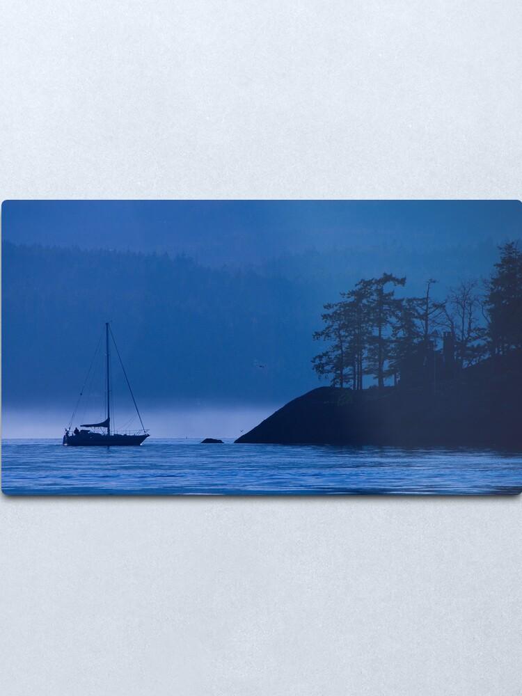 Alternate view of Blue Mist Metal Print