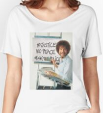 No Justice No Peace Women's Relaxed Fit T-Shirt