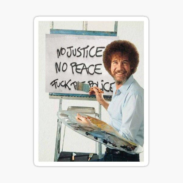 Sin justicia, no hay paz Pegatina