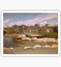 Old Boat, Peggy's Cove  Sticker