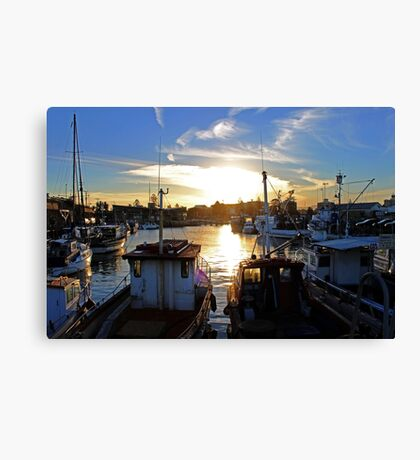 The Harbour -Wollongong- Canvas Print