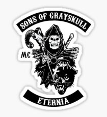 SONS OF GRAYSKULL!! Sticker