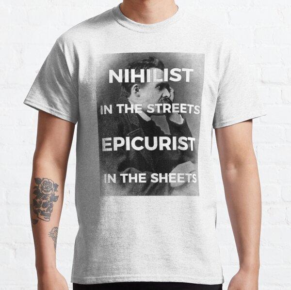 Nihilism & Epicurism - Nietzsche  T-shirt classique