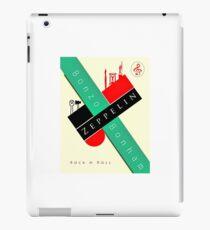Rockin' Bauhaus Bonzo Zeppelin Design  iPad Case/Skin