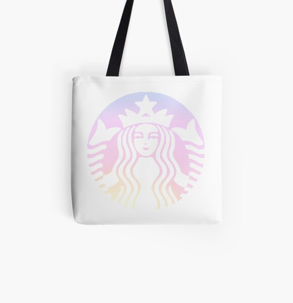 Ombre Sunset Starbucks All Over Print Tote Bag