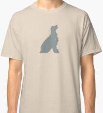 Field Spaniel Gray Silhouette Classic T-Shirt