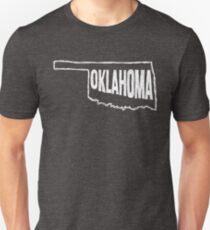 Oklahoma (White Graphic) T-Shirt