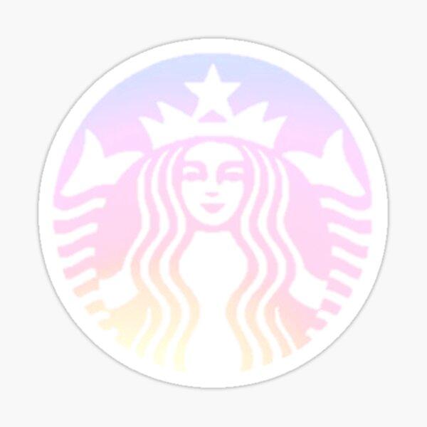 Ombre Sunset Starbucks Pegatina