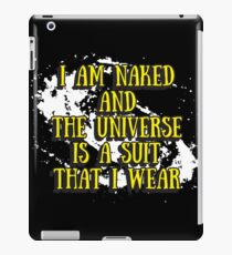 I Am Naked iPad Case/Skin