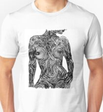 Monochromatic Nude Unisex T-Shirt