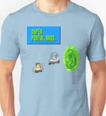 Rick And Morty Super Portal Bros Unisex T-Shirt