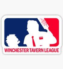 Winchester Tavern League Sticker