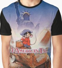 American Tail Drew Struzan Poster Design Graphic T-Shirt