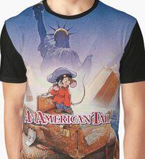 American Tail Drew Struzan Poster Design Graphic T-Shirt