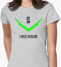 I Need Healing Women's Fitted T-Shirt