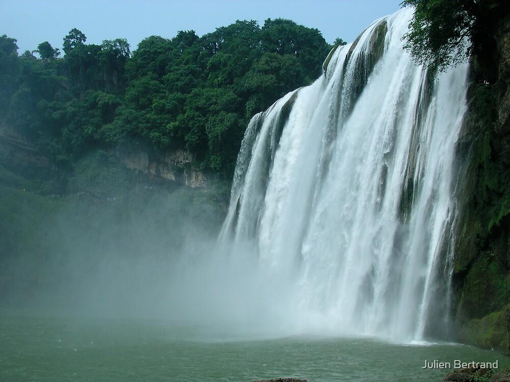 Huang Guo Shu Waterfalls in Guizhou by Julien Bertrand