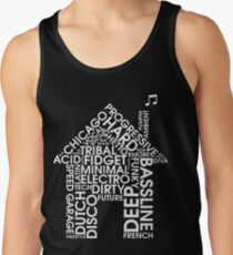 House-Musikgenres Tank Top