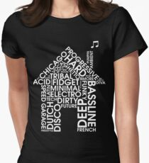 House-Musikgenres Tailliertes T-Shirt