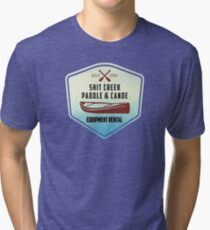 Paddle & Canoe Equipment Rental Tri-blend T-Shirt