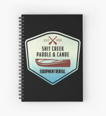 Paddle & Canoe Equipment Rental Spiral Notebook