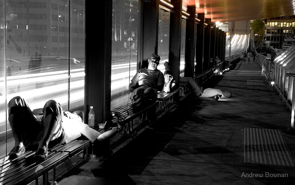 Waiting. by Andrew Bosman