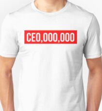 CE0,000,000  CEO,000,000 Unisex T-Shirt