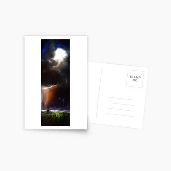 Seething Landscape Postkarte