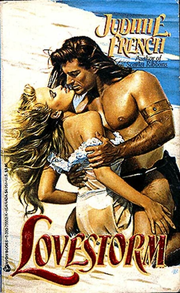 Lovestorm Romance Novel Cover with Fabio by RookieRomance