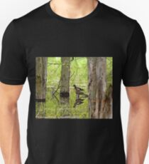 Wood Ducks Reflections Unisex T-Shirt