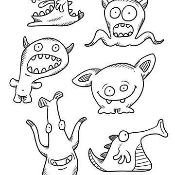Little Monsters by calvininnes