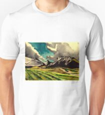 Fields and mountains and a sky T-Shirt