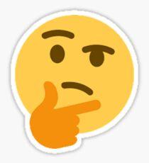 Thinking Emoji Sticker