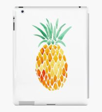 mosaic water color pineapple iPad Case/Skin