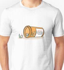 Pill Cats' WARNING Label Unisex T-Shirt