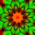 Summer Flower Art-Available As Art Prints-Mugs,Cases,Duvets,T Shirts,Stickers,etc by Robert Burns