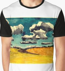 Yellow fields Graphic T-Shirt