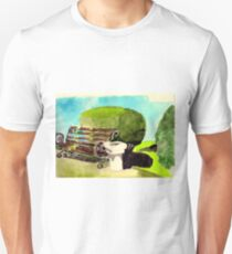 Bench in tha park Unisex T-Shirt
