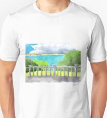 embankment near the black sea Unisex T-Shirt