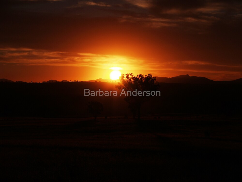 At worlds end by Barbara Anderson