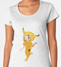 Pika Yoo  Women's Premium T-Shirt