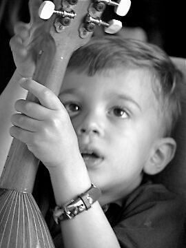 little musician by konstantinos sotiriadis