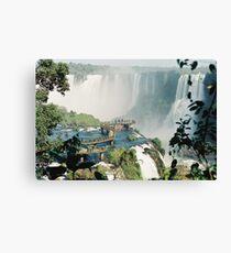 Iguazu in Brazil Canvas Print