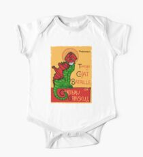 Chat Bataille Baby Body Kurzarm