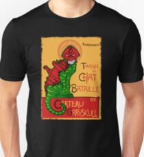 Chat Bataille T-Shirt
