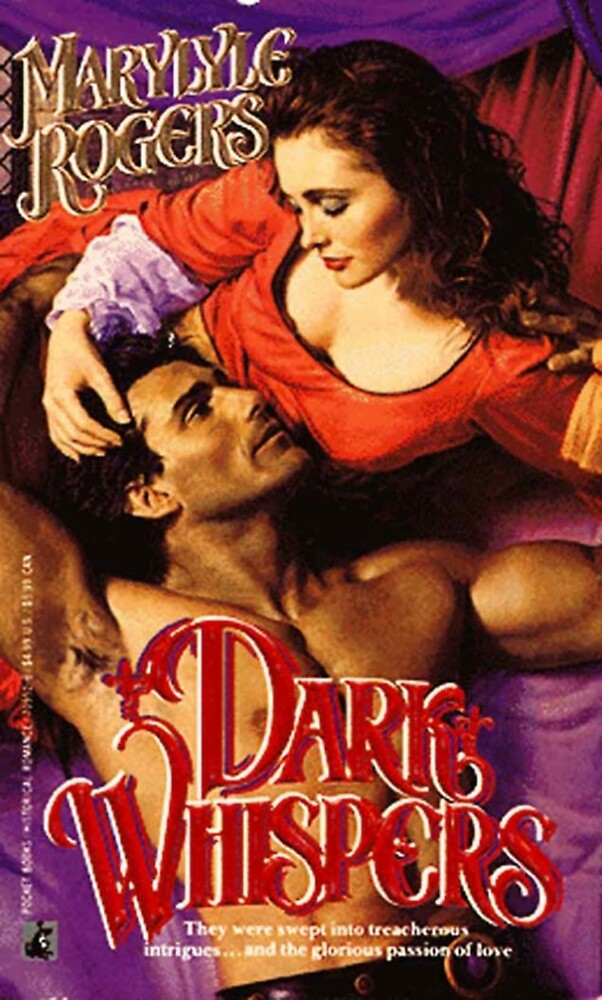 Dark Whispers Romance Novel Cover by RookieRomance