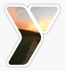 The Y Sticker