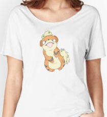 Chubby Growlithe Women's Relaxed Fit T-Shirt
