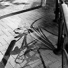 Peaceful Pavement (Shadowplay collection) by Lachlan Kent